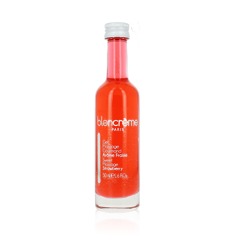 Gel massage gourmand fraise 50mL