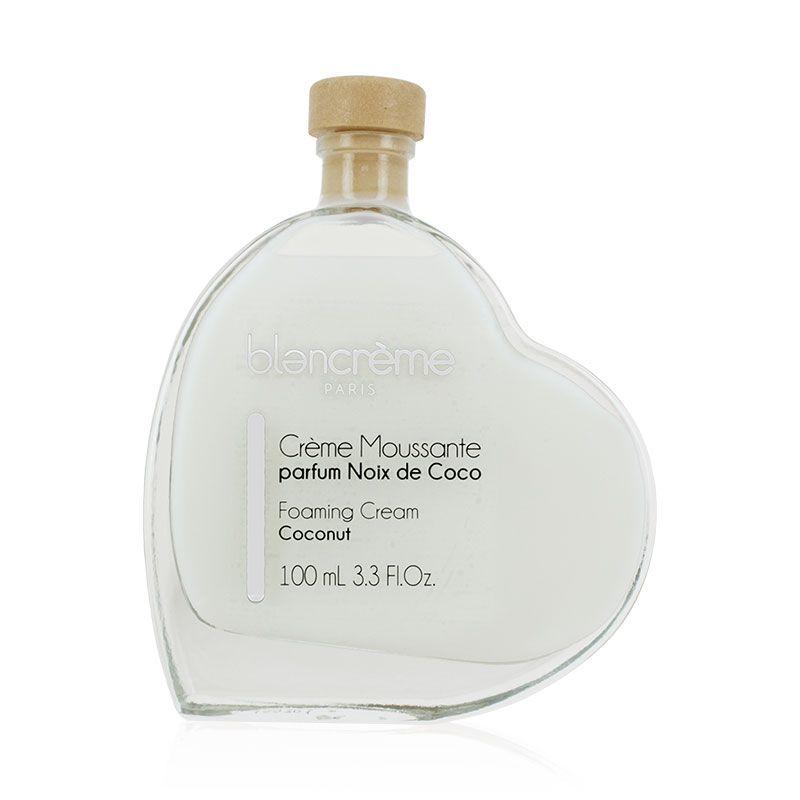 Crème moussante cœur parfum noix de coco 100ml