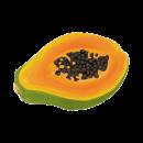 Blancrème - Masque visage tissu - Papaye & orange 2