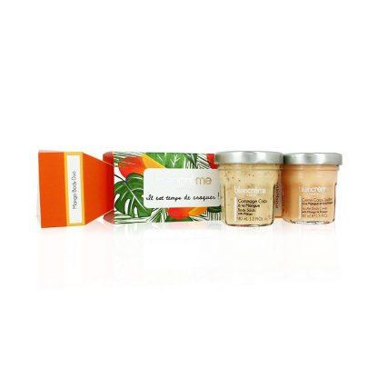 Crackers soins corps contenant des soins pour le corps à la mangue & à la passion