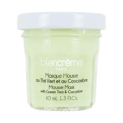 Masque visage mousse - Thé vert & Concombre - 40ml
