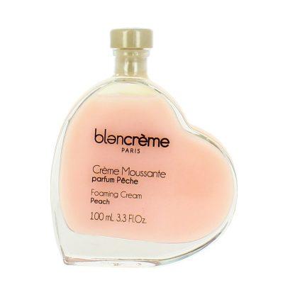 Crème moussante cœur parfum pêche 100ml