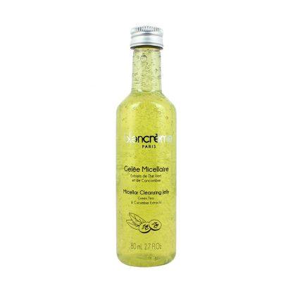 Gelée démaquillante micellaire - Thé vert et concombre - 80ml
