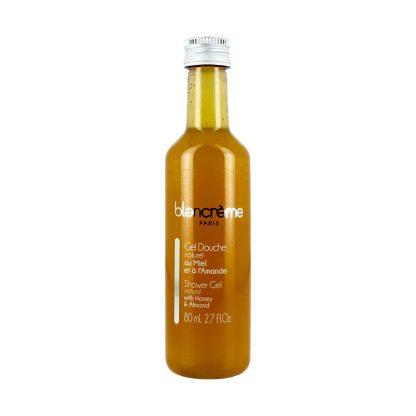 Gel douche naturel - Miel et amande - 80ml