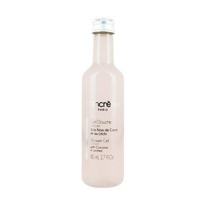 Gel douche naturel - Coco et litchi - 80ml