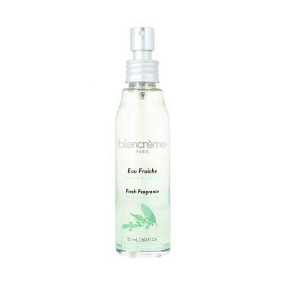 Eau fraîche Thé vert & verveine 50mL : parfum sans alcool - fabriqué en France
